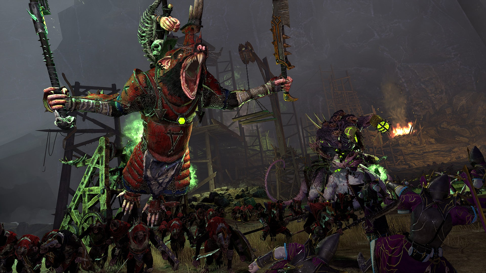 Total War Warhammer 2 Queek Headtaker